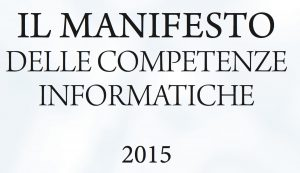manifesto competenze informatiche 2015